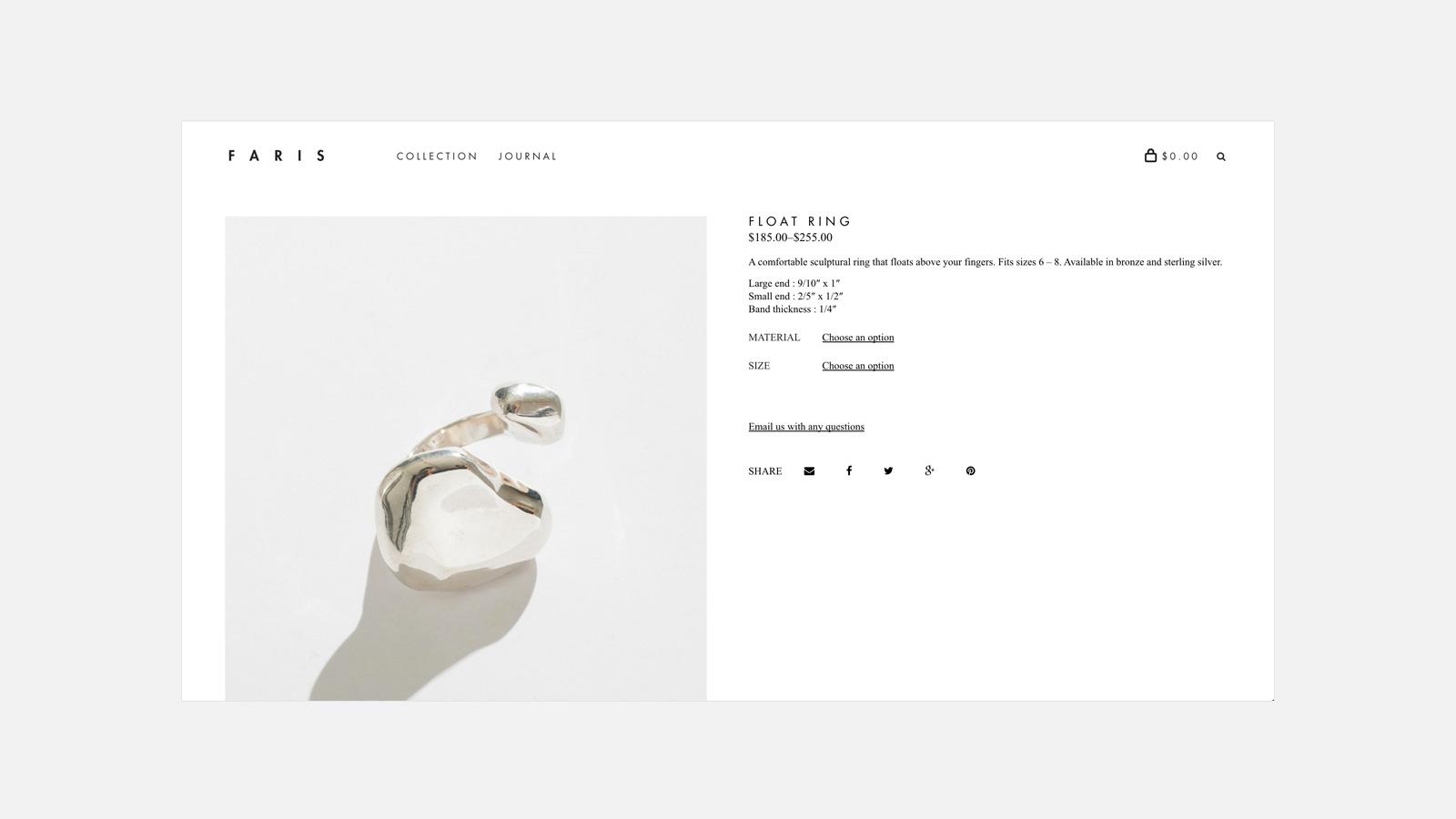 Zach Self | FARIS Jewelry