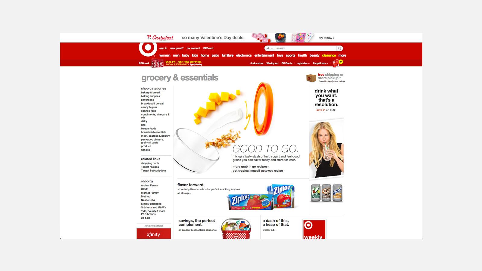 Zach Self | Target Grocery