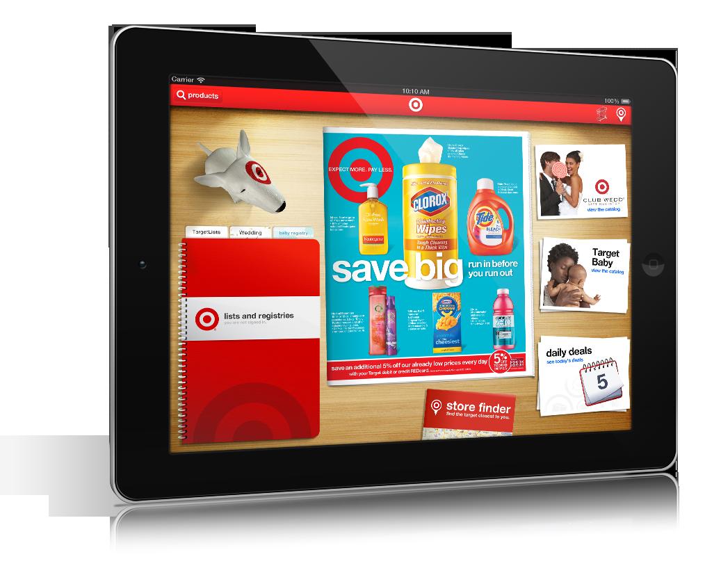 Zach Self | Target iPad App